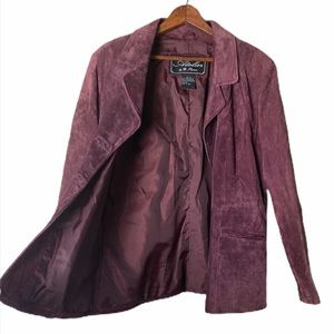 Atelier By B. Thomas Suede Fully Lined Jacket